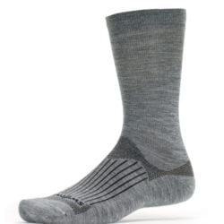 Swiftwick Pursuit Merino Seven Heather Grey Sock